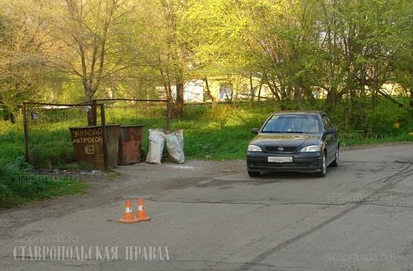 Автомобилист сбил пенсионерку в одном из дворов Невинномысска